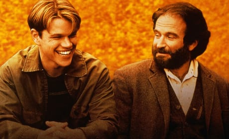 Good Will Hunting Matt Damon Robin Williams