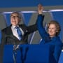 Meryl Streep and Jim Broadbent in The Iron Lady