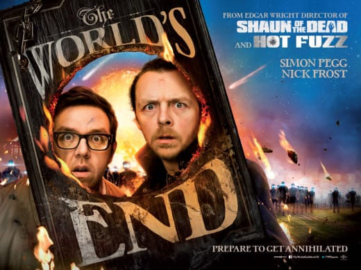 The World's End Poster UK