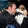 Jean Dujardin and Uggie at The Oscars