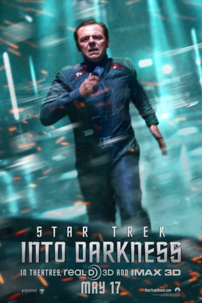 Star Trek Into Darkness Scotty Poster