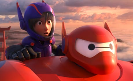 Baymax Hiro Big Hero 6