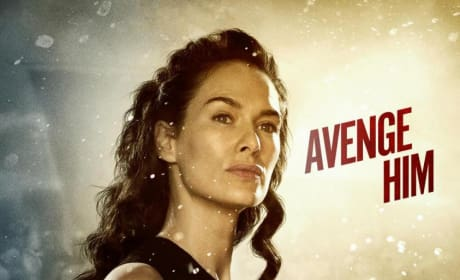 "300 Rise of an Empire Character Poster: Lena Headey Says ""Avenge Him"""