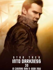 Star Trek Into Darkness Benedict Cumberbatch Character Poster