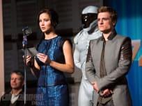 Jennifer Lawrence Josh Hutcherson Catching Fire