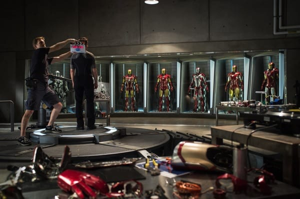 Iron Man 3 Set Photo