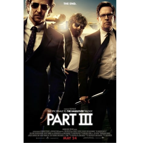 The Hangover Part III Prize Poster
