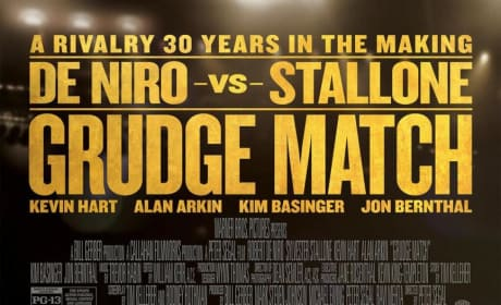 Grudge Match Posters: Rivalry 30 Years in the Making