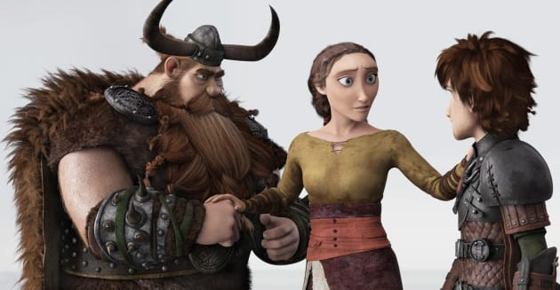 How ti Train Your Dragon 2 Hiccup Family