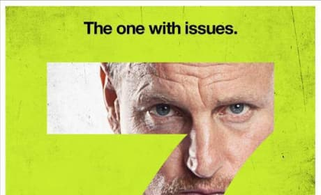 Woody Harrelson Seven Psychopaths Character Poster