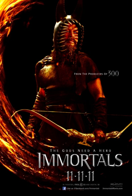 Immortals Character Poster - Hyperion