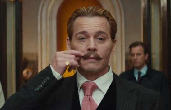 Johnny Depp Stars As Mortdecai