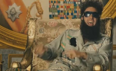 The Dictator Trailer Premieres: Sacha Baron Cohen Rules