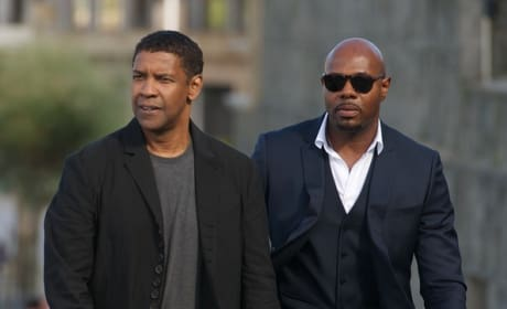 Antoine Fuqua Denzel Washington Photo