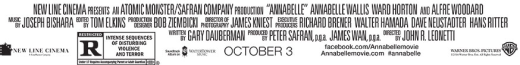 Annabelle Credits