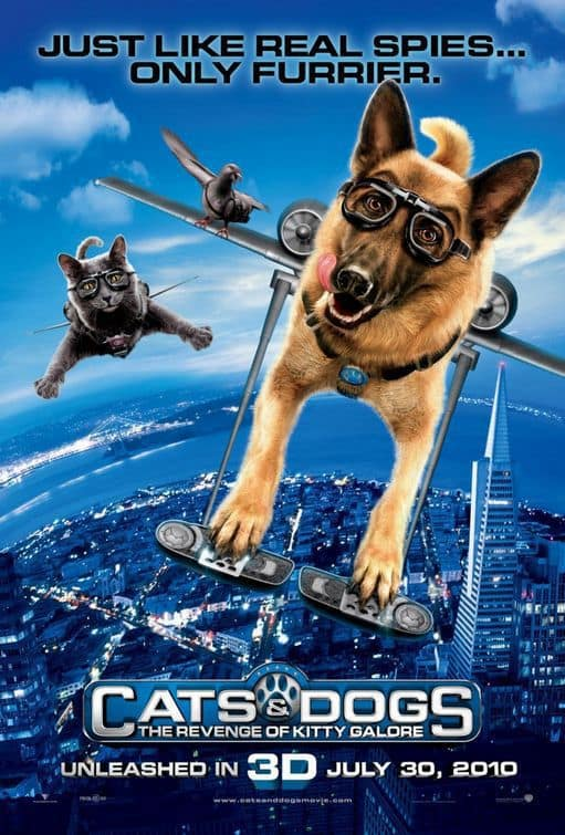 Cats and Dogs: The Revenge of Kitty Galore Poster