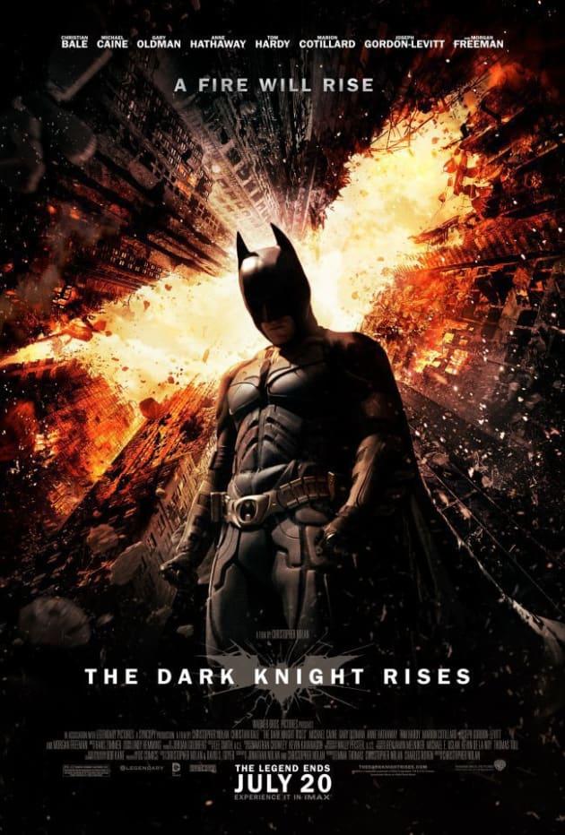 The Dark Knight Rises Poster 2