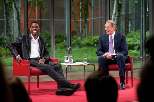 Chris Rock and Charlie Rose
