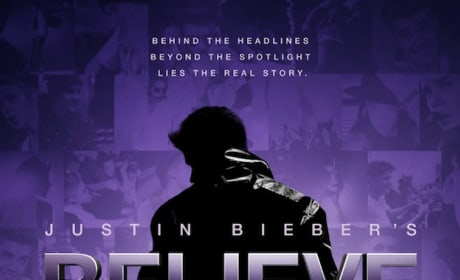 Believe Poster: Justin Bieber Strikes a Pose