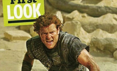 Sam Worthington in Wrath of the Titans