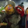 Muppets Most Wanted Kermit Fozzie Walter