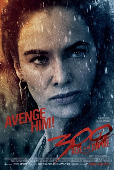 300 Rise of An Empire Lena Headey Poster