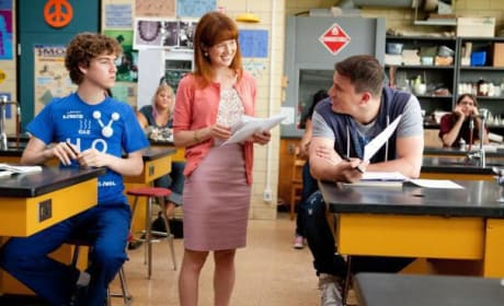 Ellie Kemper and Channing Tatum in 21 Jump Street