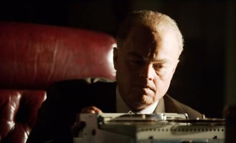 Leonardo DiCaprio is J. Edgar Hoover