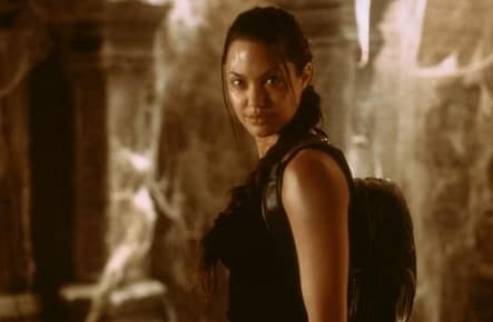 Angeline Jolie in Lara Croft: Tomb Raider