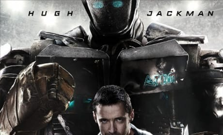 Hugh Jackman's Fighting in New Real Steel Poster