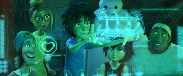 The Cast of Characters from Big Hero 6