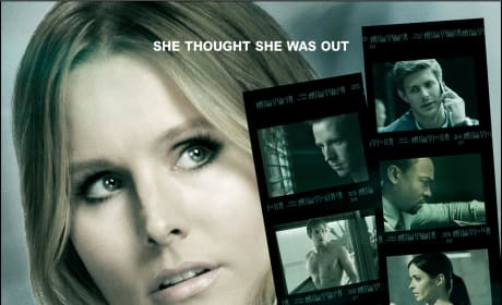 Veronica Mars Poster: She Thought She Was Out!