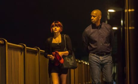 The Equalizer Denzel Washington Chloe Moretz