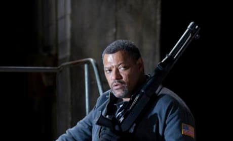 Laurence FIshburne as Baines