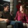 McKenzie Foy and Taylor Lautner in Breaking Dawn Part  2