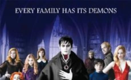 Dark Shadows 2012 Film Poster