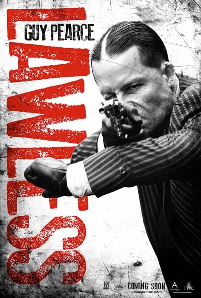 Lawless Character Poster: Guy Pearce