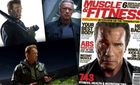 Arnold Schwarzenegger Gives Fans Terminator: Genisys Sneak Peek