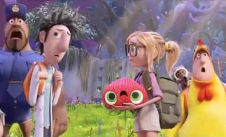 Cloudy with a Chance of Meatballs 2 Foodimals Reveal