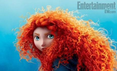 Four Brave Character Posters: Merida and her Clan