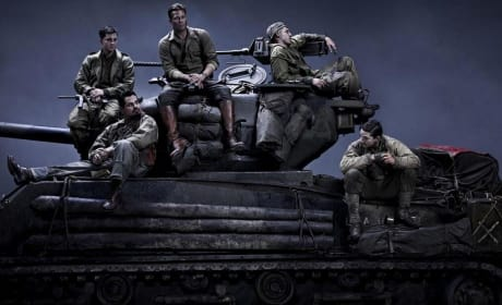 Fury First Photo: Brad Pitt is Back in Battle