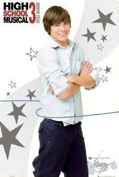 Troy Bolton Poster