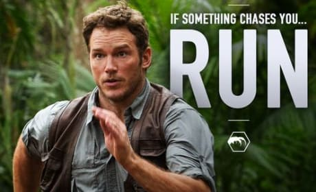 Jurassic World: Chris Pratt Is on the Run!
