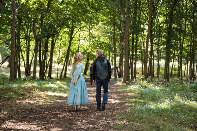 Cinderella Lily James Kenneth Branagh