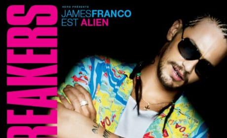 James Franco Spring Breakers International Poster