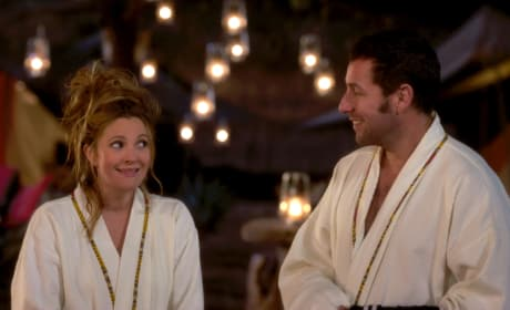 Adam Sandler Drew Barrymore in Blended