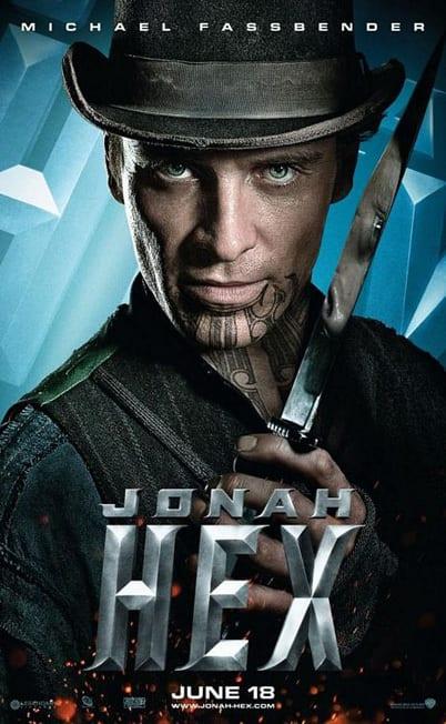Jonah Hex Michael Fassbender Poster