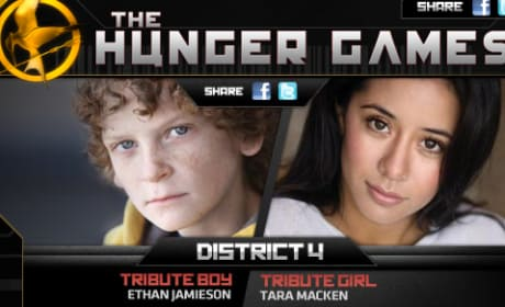District 4 Tributes in The Hunger Games