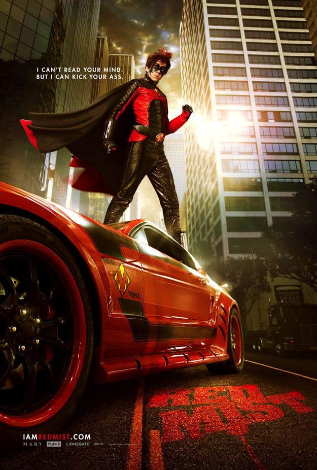 Red Mist Kick Ass Poster