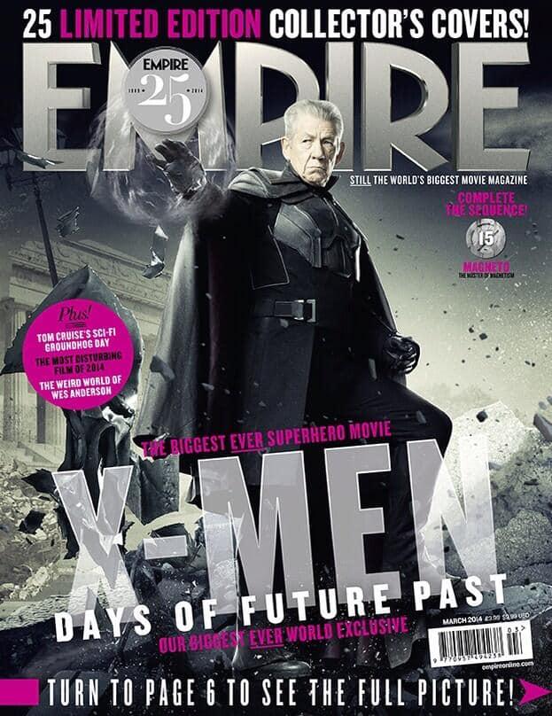 X-Men Days of Future Past Ian McKellen Empire Cover